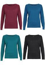 QS by s.Oliver Camiseta para señoras camisa cuello redondo manga larga Equipo