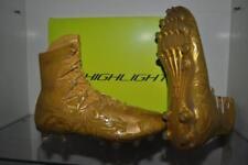 Under Armour Mens Highlight Lux MC Football Cleats GOLD RUSH 1297953 795 NIB