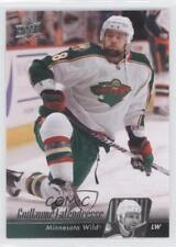 2010-11 Upper Deck #103 Guillaume Latendresse Minnesota Wild Hockey Card