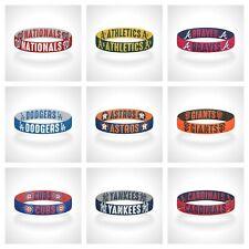 Reversible MLB Team Mascots Bracelet Elastic Stretch Bracelet MLB Wristband