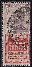 1925 PUBBLICITARIO TANTAL c. 50 n° 18 § IN VARIETA' VIGNETTA IMPASTATA - SORANI