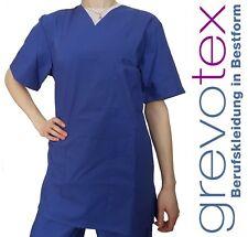 OP-Kasack OP-Hemd Unisex OP-Kleidung Schwesternkleidung Arztkleidung Blau