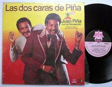 JUAN PINA CON LA REVELACION Las Dos Caras de Pina COLOMBIA LP