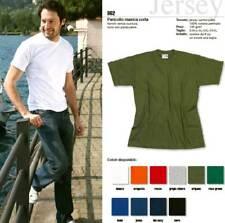T-shirt maglia uomo Effepi manica corta girocollo in jersey puro cotone art 862