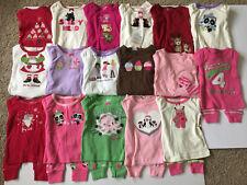 U PICK NWT 6-12M GYMBOREE BABY GIRLS WINTER HOLIDAY L/S PAJAMAS GYMMIES 2PC SET