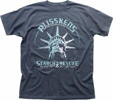Snake Plissken Escape From New York de recherche et sauvetage Charcoal T-shirt 9195