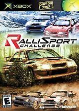 RalliSport Challenge Platinum Hits (Microsoft Xbox, 2002) ** Complete **