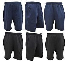 Men's Bermuda Beach Shorts Elasticated Waist Boy's Cropped Half Pant Over Knee
