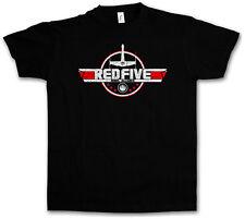 RED FIVE ALLIANCE T-SHIRT - Luke Star Rebel Skywalker Wars X-Wing Logo T Shirt