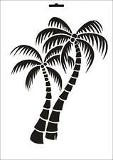 Wandschablone Maler T-shirt Schablone W-125 Karte ~ UMR Design