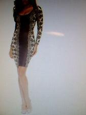 Kardashian Kollection Women Pencil Dress -Lace Print