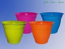 dekorativer Pflanztopf, Blumentopf, Übertopf, Pflanzgefäß,verschiedene farben