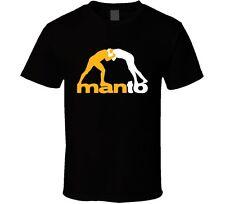 MANTO Brazilian Jiu Jitsu Martial Art Men's Black T-Shirt