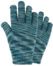 1 Pair Ladies Marbled Magic Stretch Gloves