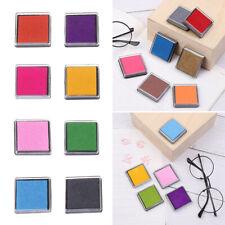 Multi-color Sponge Scrapbooking Stamp Pads Fingerprint Inkpad Ink Pad Square