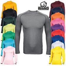 WS Rhino RH001 à Manches Longues Couche De Base Chemise Active Gym Fitness Sports Wear