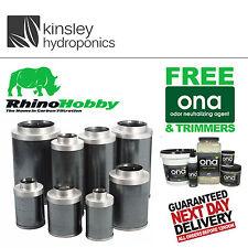 Filtros de carbono Rhino Hobby Tallas 4 5 6 8 10 12 pulgadas Hydroponics