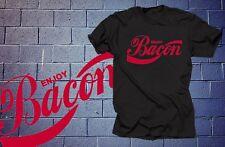 Enjoy Bacon T-Shirt Bacon Fan Shirt T Shirt Tee