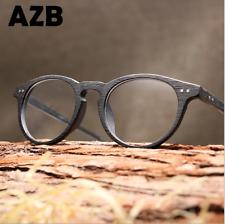 Unisex Retro Clear Lens Eyeglasses Frame Round Vintage Fashion Optical Glasses