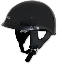 AFX FX-200 Solid Colors Dual Inner Lens Beanie Powersport Motorcycle Half Helmet