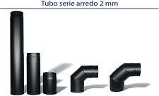 Diametro Ø 120 Tubi e accessori scarico fumi per stufe a legna Serie Arredo 2 mm