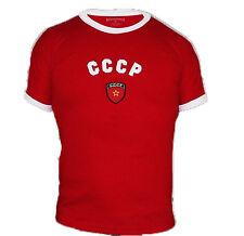 CCCP Russian Retro T-shirt Uniform 100% Cotton