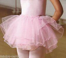 Tütü Tutu Ballett Ballettrock Tüllrock Ballettkleid Ballettröckchen Rock Rosa