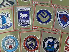 PANINI FOOTBALL 78 équipe badges