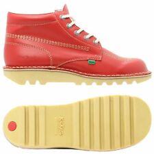 KICKERS KICK HI para hombres Zapatos bota de Rojo Para Hombre Caminar Smart Casual de 7 - 11