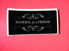 NEW Funeral For A Friend Board Amp Case Car Sticker