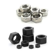10/25/50/100pcs M1.6 M2 M2.5 M3 M4 M5 M6 M8 M10 Stainless Steel Hex Hexagon Nuts