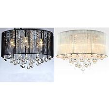 EFL Waterdrop Wiredrawing Ceiling Lamp European Modern Parlour Chandelier Light