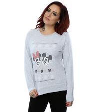 Disney Damen Mickey Mouse Christmas Sweatshirt