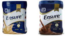 Ensure  400 GM Tins  Vanilla / Chocolate  Abbott Ensure Nutrition Shake Powder