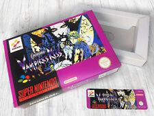 Boite SNES / Box : Castlevania Vampire's Kiss