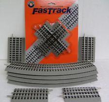 LIONEL FASTRACK O GAUGE train fast FIGURE 8 TRACK PACK fig loop 6-12030-NB NEW