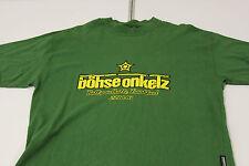 """Original Böhse Onkelz T-Shirt , """"Ballsporthalle"""" Gebraucht mit Unterschriften"""