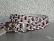 Adidas Originals Disco Belt Damen Gürtel 2,5cm pink-weiß Retro S M L NEU 454528