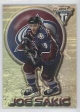 2000 Pacific Private Stock Titanium #23 Joe Sakic Colorado Avalanche Hockey Card