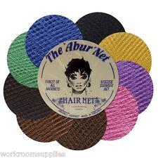 3 HAIRNETS TRADITIONAL VISCOES SLUMBER SLEEP-IN HAIR NETS - 9 Hairnet Colours
