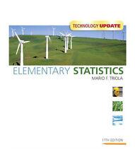 Elementary Statistics by Mario F. Triola (2010, CD-ROM / Hardcover, 11th edition