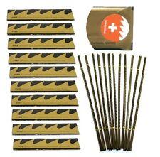 1440pc Jewelers Saw blades #2,2/0,3/0,4/0,5/0 Pike Swiss Engraving 10 grs