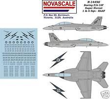 RAAF F/A-18F Super Hornet Decals 1/144 Scale N14490