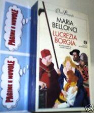 M. BELLONCI - LUCREZIA BORGIA  oscar BIOGRAFIE