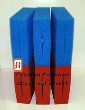 6 - 14 x Filterschwamm geschlitzt + Biomatte passend für Oase Biotec 5+10+30 Koi