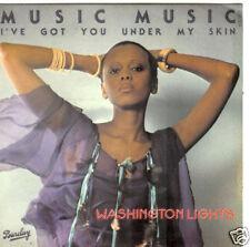 45 TOURS--WASHINGTON LIGHTS--MUSIC MUSIC--1978