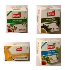 BADIA Green Tea Mint Tea Cat's Claw Dandelion and Ginger Tea  antioxidant,ect