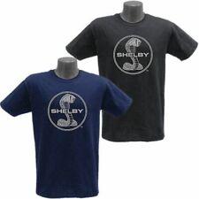 Shelby Cobra Logo Habor Blue T-Shirt