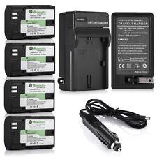 LP-E6 Battery for Canon EOS 6D 60D 7D 70D 5D Mark II III DSLR Camera + Charger