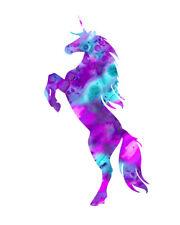 Unicorn Multi Colour  UNIC01 A4 A3 POSTERS PRINT BUY 2 GET 1 FREE